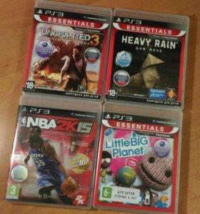 Продам 4 игры для PS3