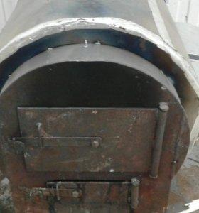 Печь стальная буржуйка