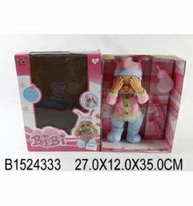Кукла пупс прячет глазки выбор