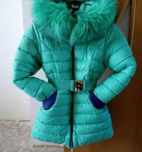 Зимнее пальто,р-р 34