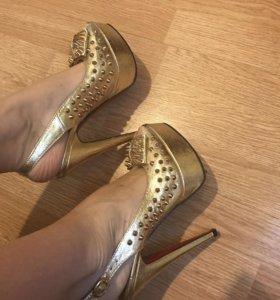 Туфли летние AriRossa новые