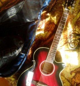 Гитара Ibanez aeg8-trs