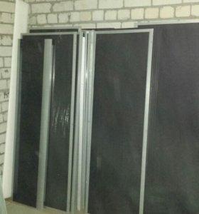 Каленые стекла и дверцы для душевых кабин