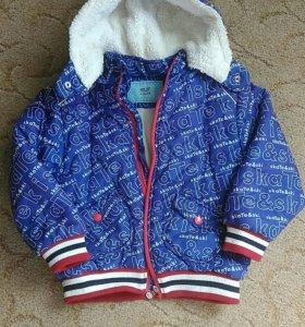 Куртка весна - осень утепленная