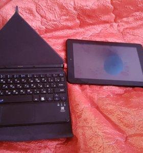Планшет +клавиатура. Новый