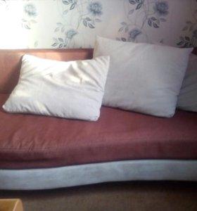 Диван кровать еврокнижка 2 спольный