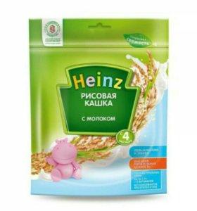 Каша  Heinz с молоком рисовая, овсяная