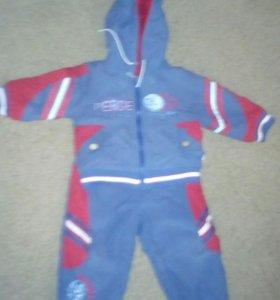 Утепленный костюм на мальчика