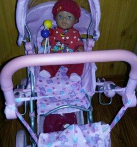 Коляска для куклы и кукла Беби Борн 43 см