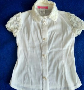 Блуза (кружевные рукава)