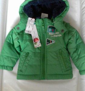 Куртка новая демисезонная детская