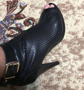 Сапоги-туфли новые
