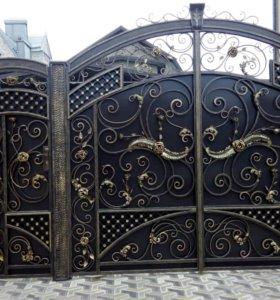 Ворота двери рестоврация