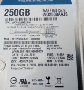 Жёсткий Диск на 250 ГБ.
