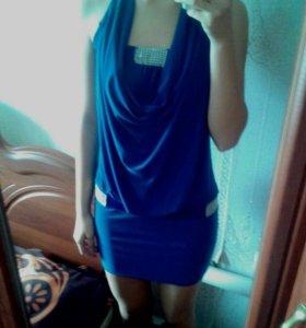 Платье вечернее, одевалось один раз