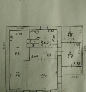 Продам дом 54,2 кв.м.