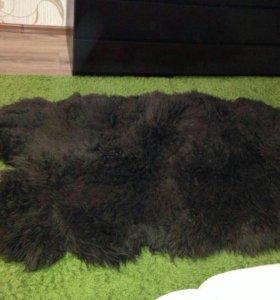 Натуральная овечья шкура 180х90 см в отличном сост