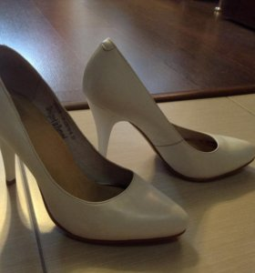 Туфли белые размер 38