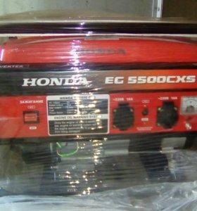 Бензиновый генератор Honda EG 5500CXS новый