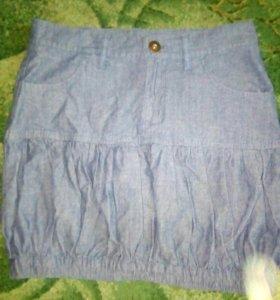 Джинсовая юбка Твое