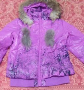 Куртка на теплую зиму, весну