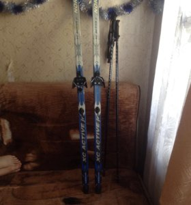 Зимние лыжи