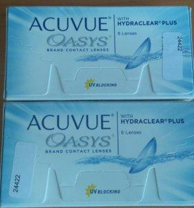 Контактные линзы Acuvue Oasys -4.25 8.4 12шт.