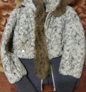 Куртка на теплую зиму, весну, осень