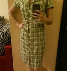 Платье рубашка, рр 46