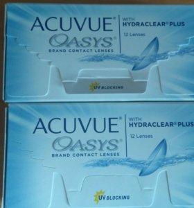 Контактные линзы Acuvue Oasys -4.0 8.4 22 шт.