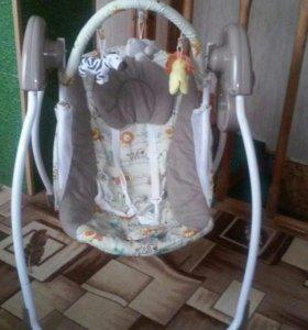 Кресло качеля для малыша