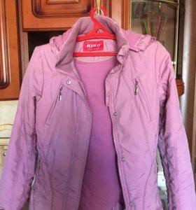 Куртка на девочку весенняя
