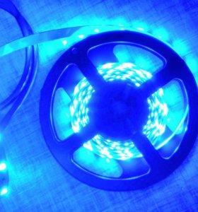 Светодиодная лента 3528 синяя
