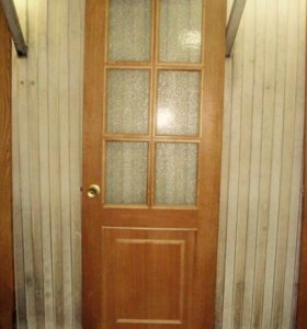Двери из массива, в хорошем состоянии