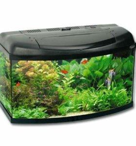 Аквариум 100 литров акваэль с панорамным стеклом