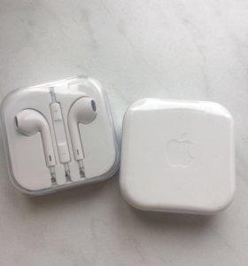 Наушники для IPhone. Новые.