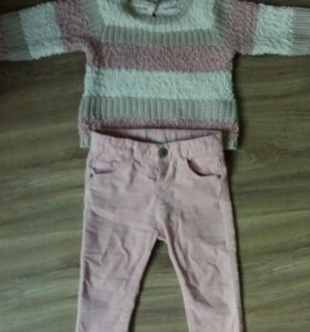 Штаны и свитер Zara