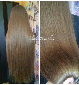 Полировка волос!