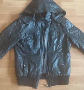 Куртка кожзам размер 44-46