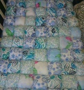 Одеяло бонбон в детскую кроватку