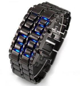 LED часы Iron Samurai