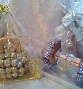 Конфетные подарки мужчинам и мальчикам