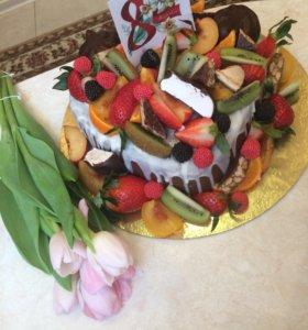 Весенний тортик
