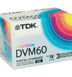 Видеокассета mini DV TDK DVM-60 ME