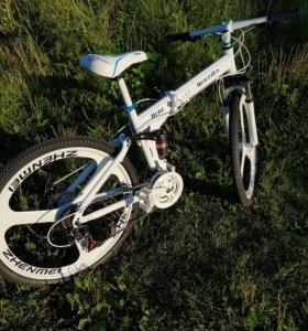 Велосипед складной на литье Audi
