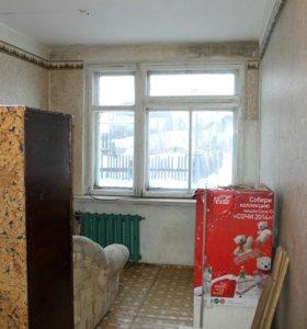 Комната в общежитии.