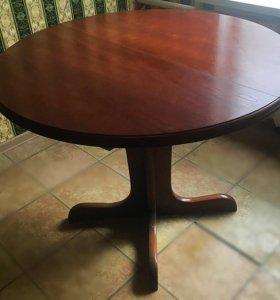 Стол раздвижной из массива