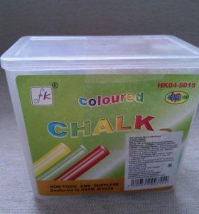 Мел,разноцветный для малышей