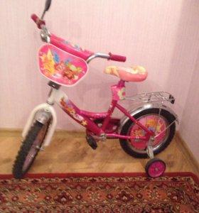Велосипед детский, для девочки