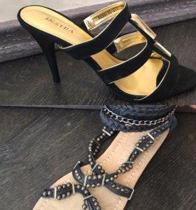 Босоножки и сандалии новые